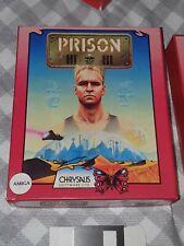 Prison 3 Amiga VERY RARE - BOXED Retro Commodore amiga  - Vintage game