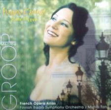 CD MONICA GROOP - flamme d'amour, français opéra arias