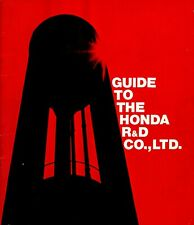 Guide to the Honda R&D Co., Ltd. 1965 1966