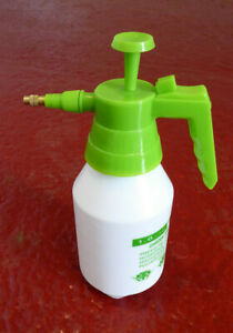 1 LITRE HAND PUMP PRESSURE SPRAYER  GARDEN / HOME / GARAGE :  MULTIPLE USES.