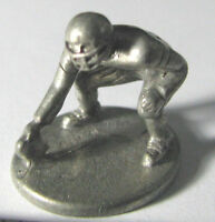 Hasbro Monopoly NFL Official (1998) token metal Lineman pewter mover mini replac