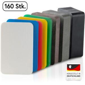 BAUHELD® Unterlegplatten Kunststoff 60x40 mm Montage Verglasungsklötze 160 Set
