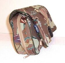 Essential Golf Duffle Travel Bag Embroidered Foldable Zippered Hanging Overnight