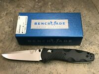Benchmade Barrage Osborne Assist Folding Pocket Knife 580 Plain Edge