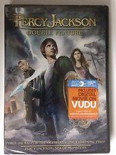 Percy Jackson  the Lightning Thief/Percy Jackson: Sea of Monsters (DVD, 2014, 2-