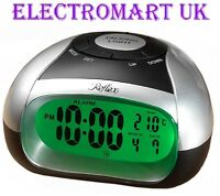 TALKING DIGITAL LED BATTERY OPERATED ALARM CLOCK TEMPERATURE DAY DATE DISPLAY