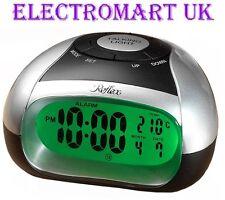 Parlando digitale a LED a Batteria Orologio Sveglia temperatura Day Date display