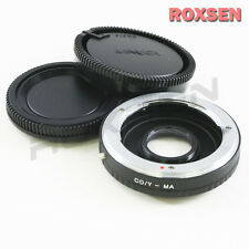 Contax Yashica C/Y Mount Lens to Sony Alpha Minolta MA AF Adapter A77 A57 A580
