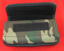 Rugged Camo Case Pouch Metal Belt Clip and Loops Holster for iPhone 5 5C 5S SE
