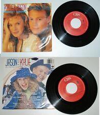 "KYLIE MINOGUE + JASON DONOVAN  "" ESPECIALLY FOR YOU  "" 1988 . CBS"