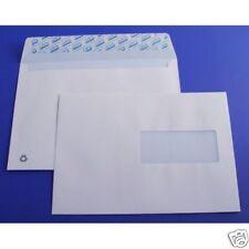 C5 A5 Blanc Enveloppes avec boîte de fenêtre de 500 90gsm Self Seal Poche Enveloppe