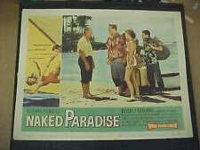 NAKED PARADISE, orig 1957 LC #2 (Beverly Garland)