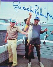 SIGNED BROOKS ROBINSON HARRISON'S CHESAPEAKE FISHING JSA ORIOLES AUTO AUTOGRAPH