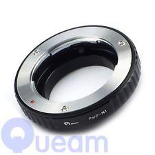 Olympus Adaptador De Lentes Montura PenF F PEN anillo para Nikon 1 montaje J1 J2 V1 V2 Cámara