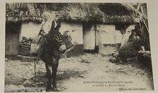Carte Postale : ACHICOURT - Une MARCHANDE de LEGUMES - REPRODUCTION