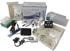 INKgrafiX® TATTOO - KOMPLETTSET Tattoomaschine SET PROFI STUDIO - NEU E2 Economy