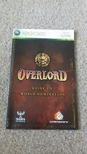 xbox 360 instruction booklet manual overlord