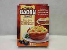 Bacon Bowl Maker - As Seen on TV - Acrylic - Black
