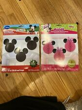 New ListingMinnie And Mickey Honeycomb Party Decorations (6 Pieces)