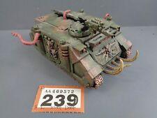 WARHAMMER Space Marine del Caos Rhino Tank 239