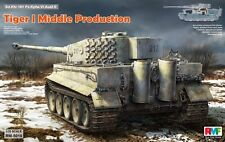 Ryefield-Model RM5010 1/35 Sd.Kfz.181 Tiger I Middle Production w/Full Interior