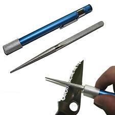 Hunting Outdoor Knife Blade Fish Hook Diamond Grit Pen-File Pocket Sharpener New