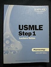 USMLE STEP 1 LECTURE NOTES PHARMACOLOGY 2006-2007 EDITION [Paperback] [Jan 01,..