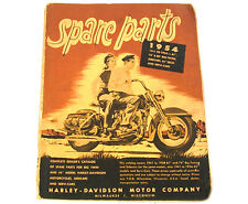 Factory Spare Parts Catalog Book for Harley 1941 - 1954 Big Twins & 45 230 p