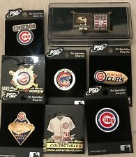 Set of 8 Chicago Cubs Logo MLB Licensed Collector Pins BLOWOUT PRICE