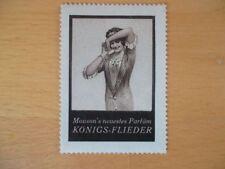 (1209) Reklamemarke Dr. Mouson´s Parfüm Königs-Flieder