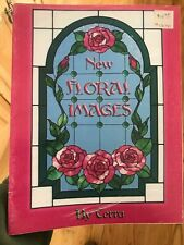 New Floral Images Stained Glass Book