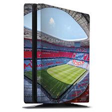 Sony Playstation 4 PS4 Slim Folie Aufkleber Skin - Stadion FC Bayern - Color