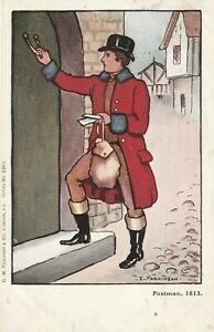 Ethel Parkinson, Postman 1813.