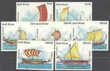 Timbres Bateaux Guinée Bissau 454/60 ** lot 3862