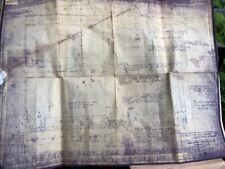 Msa Mine Safety 1950s Breathing Apparatus Case Schematics