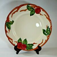 "Franciscan Apple Dinner Plate 10 1/2"" diam. Oven Safe Dishwasher Safe Made in CA"