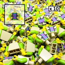 LEGO 10 x Hippie Torso Body Minifigure Minifig City