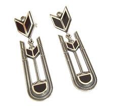 Ohrstecker 925 Silber mit Swarovskikristallen und Emaille Stud Earrings ohrgl9