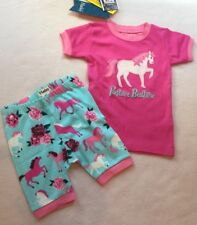 Clothing, Shoes & Accessories Hatley Toddler Girls 2 2t Pajamas Two Piece Shorts Bicycle Bike New Nwt