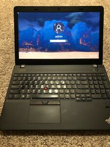 Lenovo Thinkpad E570  - 240SSD - FAST