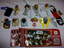 STAR WARS COMPLETE SET WITH ALL PAPERS KINDER SURPRISE 2016
