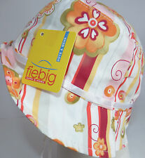KU 49 50 51 52 53 ZUM BINDEN Sonnenhut Sommer Hut Mütze Schutz Mädchen rosa