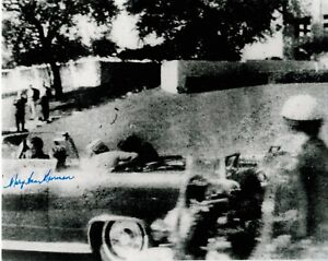 Mary Ann Moorman signed 8x10 photo Witness Assassination JFK Famous Video