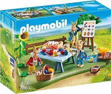 PLAYMOBIL Osterhasenwerkstatt mit Osterhase Ostern Spaß Kinder Osterfest Set