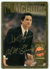 AL MCGUIRE Autographed Signed 1995 Action Packed Basketball HOF Card #13 AUTO