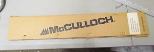 """New 16"""" Genuine McCulloch Chainsaw Bar 222916-01   .050  Discontinued item"""