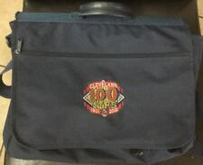 CLEVELAND INDIANS 100 Years Commemorative Office Utility Bag- Navy - NEW