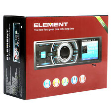 Single 1 DIN Car Stereo Radio Receiver with USB Port and SD Card Slot No CD /DVD