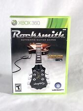 Rocksmith (Microsoft Xbox 360, 2011) No Cable - Free FAST SHIPPING