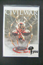 9.0 VF/NM CIVIL WAR # 3 FRONTLINE # 4 5 TURNER FRENCH EURO VARIANT WP YOP 2007